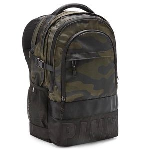 NWT VS Pink Camouflage COLLEGIATE BACKPACK